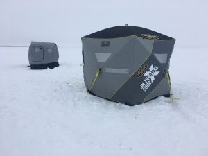 Clam portable shelters